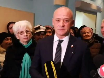 Mayor of Odessa could face criminal charges after his security attacked a local reporter