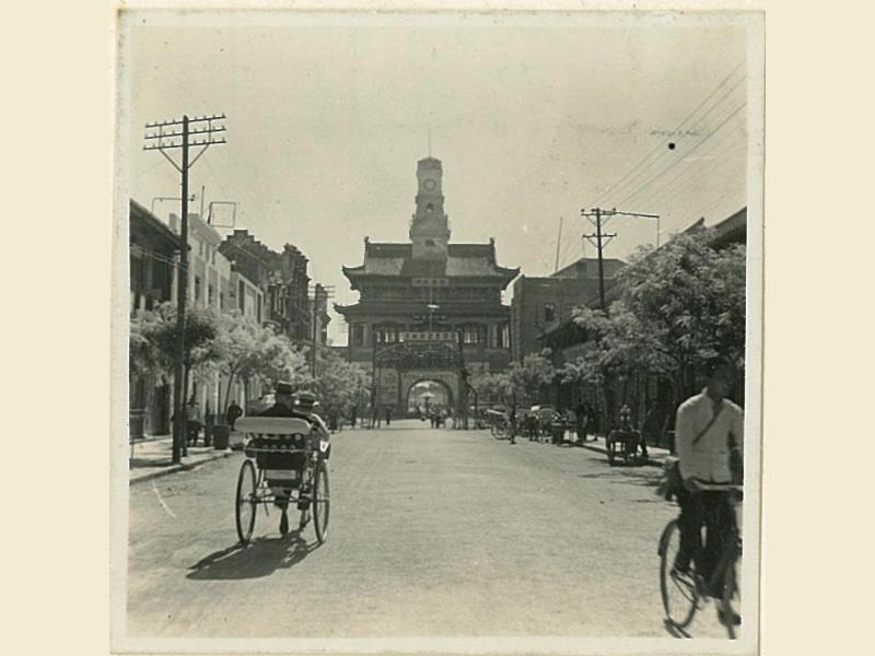 寺後街の鼓楼