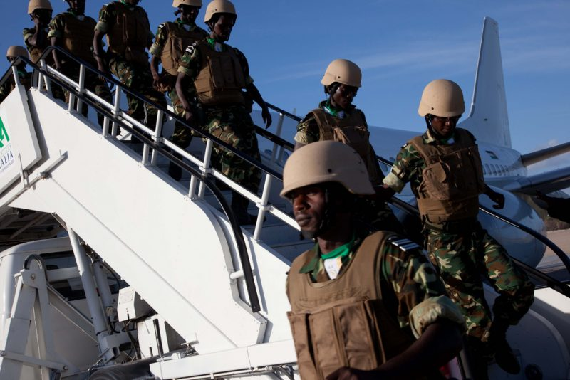 AMISOM will withdraw all African