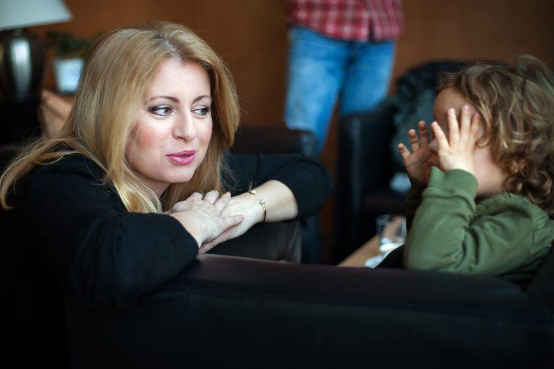 30 marca 2019 r. Zuzana Čaputová została wybrana prezydentem Słowacji. Fotografia rozpowszechniania podczas kampanii wyborczej, pozwolono korzystać z niej mediom.