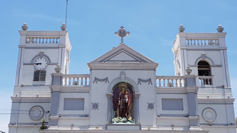 St. Anthony's church at Kochikade, Kotahena (Colombo 13). Image via GroundViews.