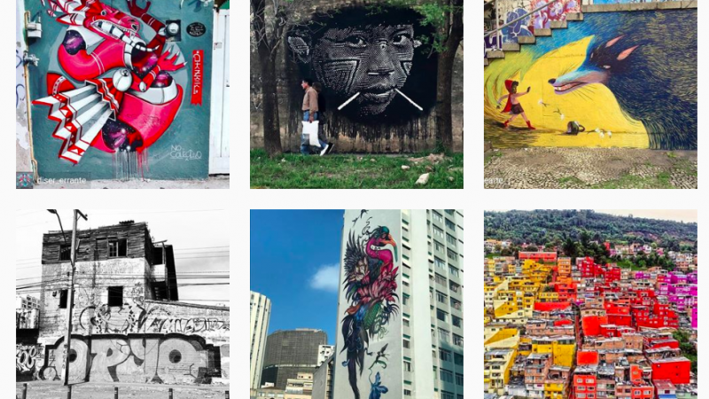This Argentinian project documents street art from all over Latin America