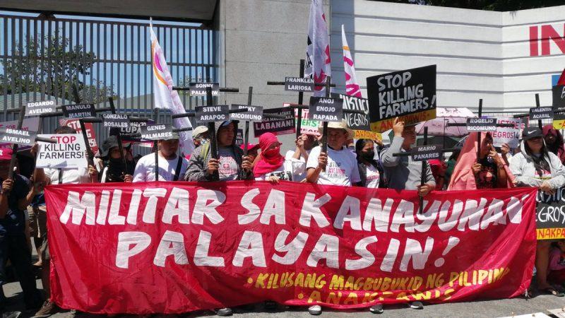 Militares filipinos ejecutan a 14 defensores del trabajo y agricultores en ataque represor