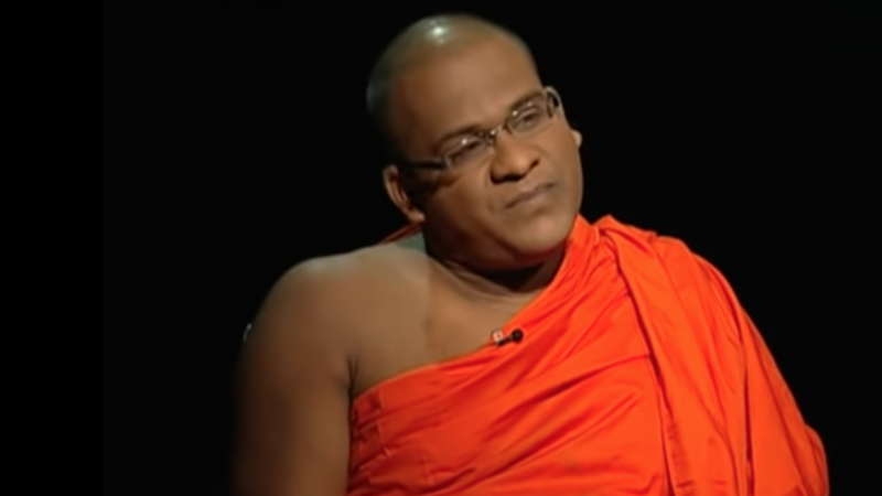 Reactions to the presidential pardon of Sri Lankan rightwing religious leader