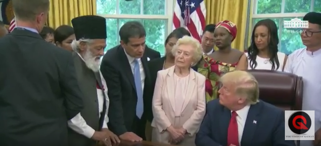 Hashtag campaign against Pakistani religious minority group during PM Khan's US visit