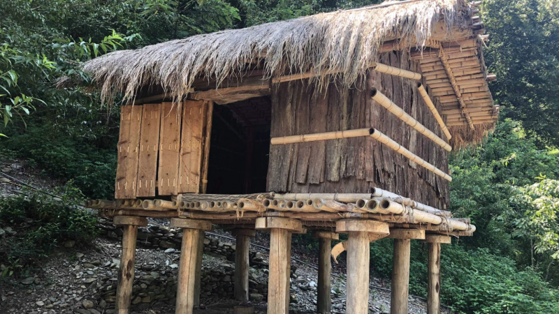 A traditional Seediq House. Image by Kaisanan Ahuan. Used with permission.