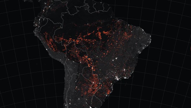 ブラジルの森林伐採拡大の影響で、アマゾンの大火災が地球規模の危機に · Global Voices 日本語