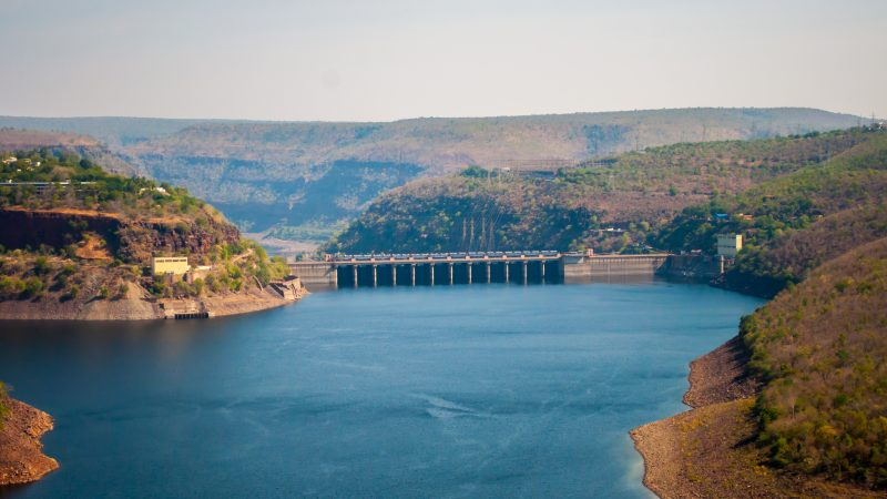 Srisailam Dam at Nallamala Forest. Image via Flickt by Subash BGK. CC BY-NC-ND