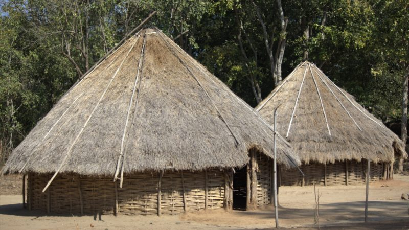 Chenchu Huts in Pollepalli, Telengana. Image via Flickr by photosinframes. CC BY-NC-ND 2.0
