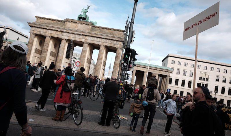 Berlin, Deutschland. 13. Januar 2014. Ein weiblicher Gast