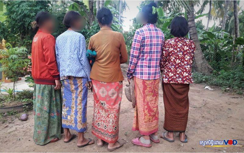 Затронутые ВИЧ жительницы поселения Рока в Баттамбанге, июнь 2019 года (VOD/Саут Сот Пратна (Saut Sok Prathna)