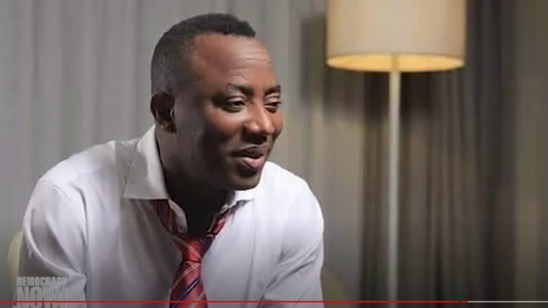 Nigerian journalist Omoyele Sowore remains in jail on trumped up charges of treason and insulting the president