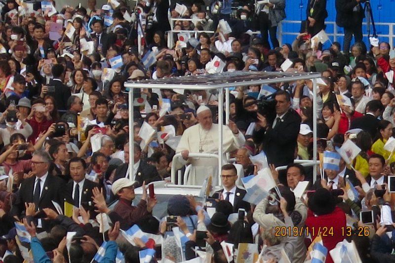 Pope in Nagasaki