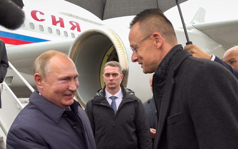 Putin in Hungary