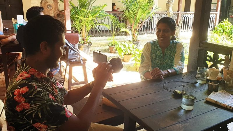 Field documentation in Goa, India (Veethika Mishra, CC-BY-SA 4.0)