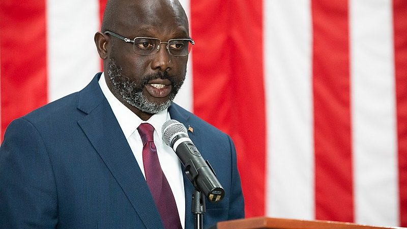 Liberia S President George Weah Sings His Fight Against Covid 19 Global Voices