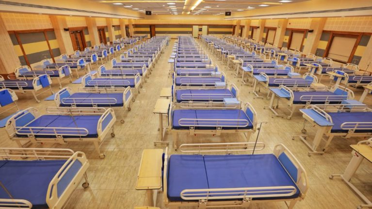 Special Hospital for Corona patients, photo credit: Government of Odisha (CC-BY-4.0)