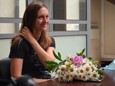 Russian journalist avoids jail term for 'justifying terrorism' – and fears rise of a new assault on the press