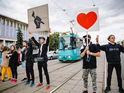 'We could present our revolution at a design festival': a Belarusian artist reflects on protest imagery
