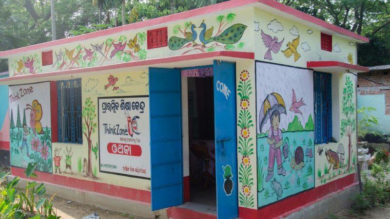 C'est ici que le programme d'éducation de la petite enfance de ThinkZone a commencé il y a cinq ans. Image de ThinkZone, utilisée avec leur permission.