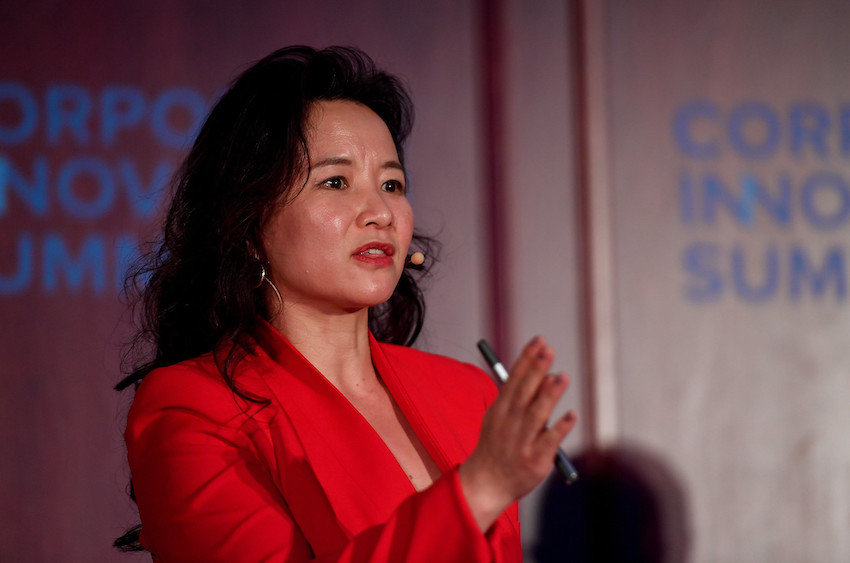 Cheng Lei in Lisbon, Portugal at Web Summit 2019
