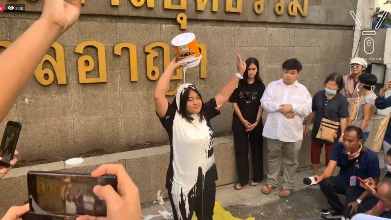 Student Union Of Thailand President Arrested Over Anti Government Protest Global Voices