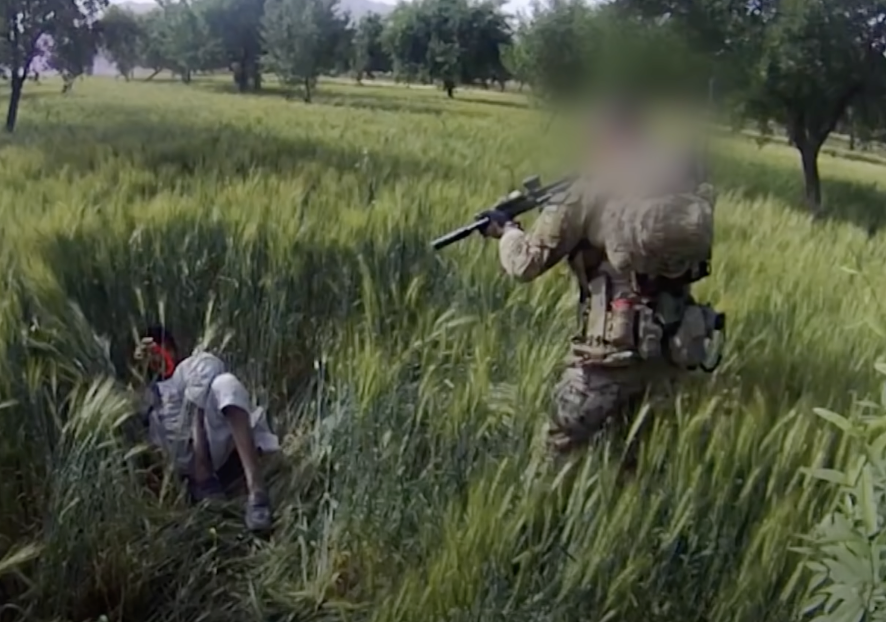 Afghan Files- Four Corners video 16 March 2020 'Killing Field' screenshot