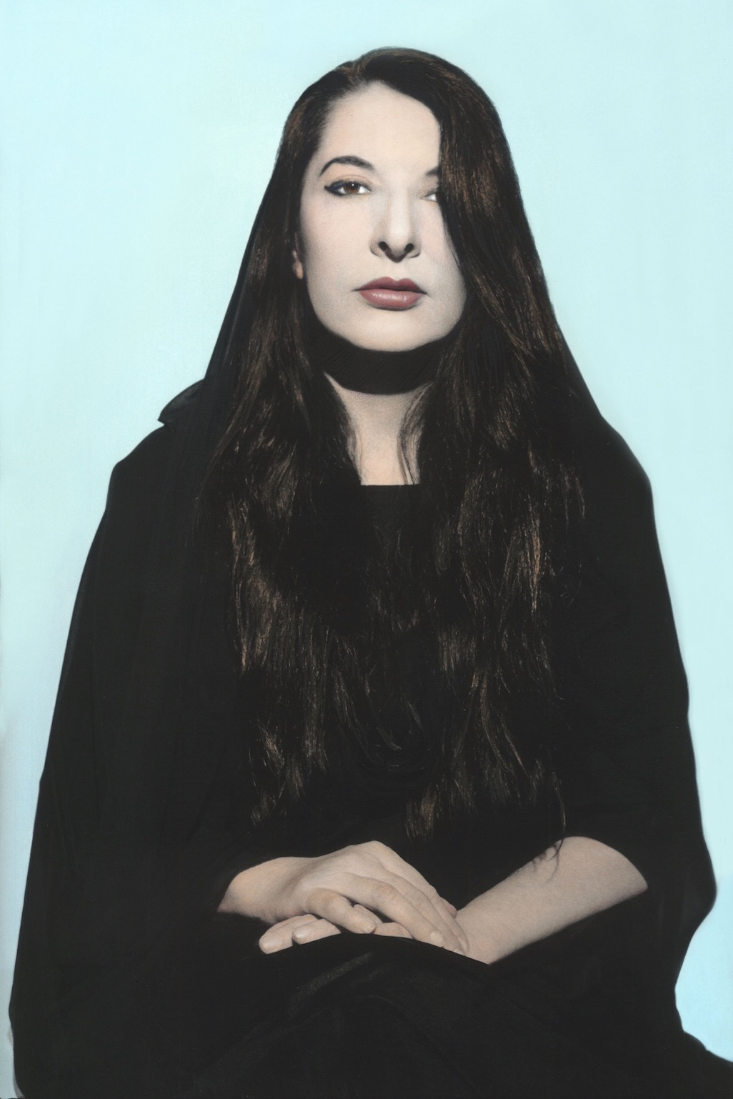 Youssef Nabil - Marina Abramović, New York 2011 Hand colored gelatin silver print Courtesy of the Artist and Nathalie Obadia Gallery, Paris/ Brussels