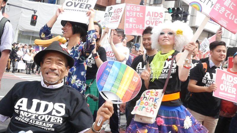 Hiroshi Hasegawa at Tokyo Rainbow Pride