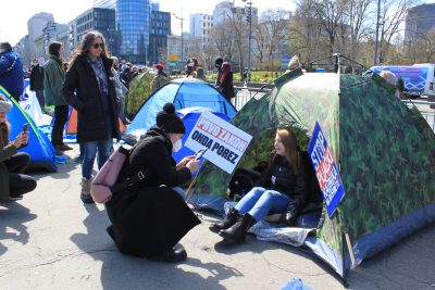 Serbian Freelancers Protest New Retroactive Tax That Threatens To Push Thousands Into Poverty 2