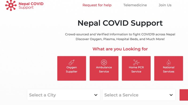 Nepal COVID-19 support group has published a Covid-19 service directory