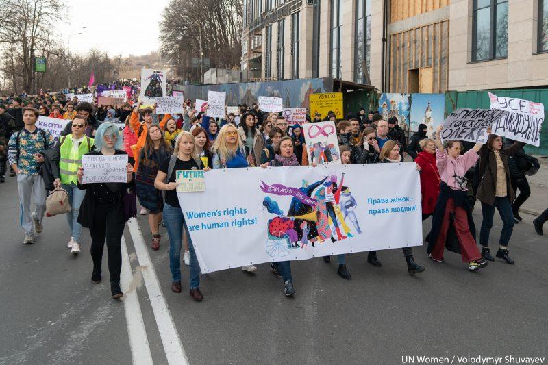 Ukraine Women's March 2019