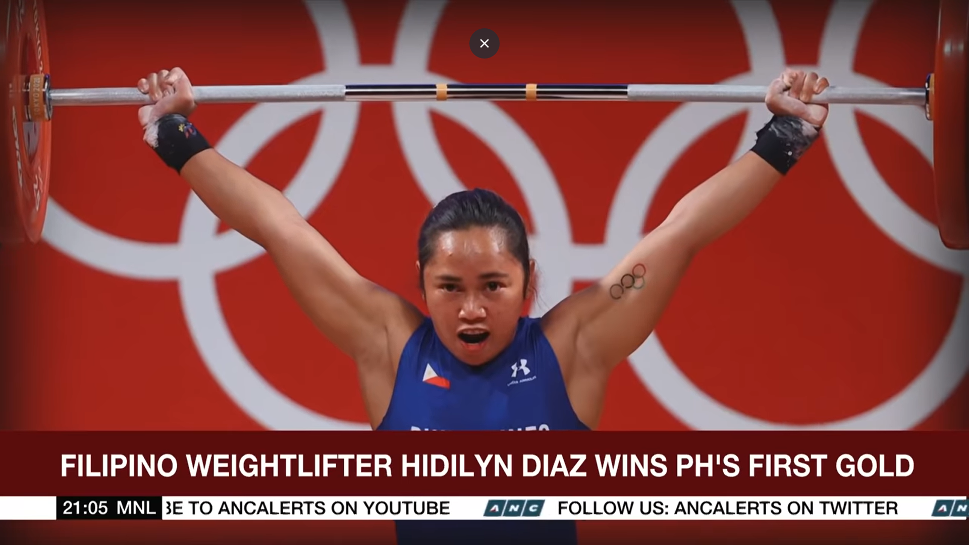 Filipino weightlifter Hidilyn Diaz makes history for winning the Philippines' first ever Olympic gold medal