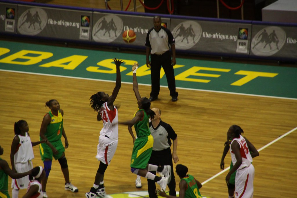 """""""IMG_6833 Afrobasket women final"""" by salymfayad is licensed under CC BY-SA 2.0"""
