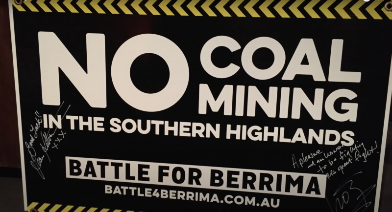 No Coal Mining The Southern Highlands