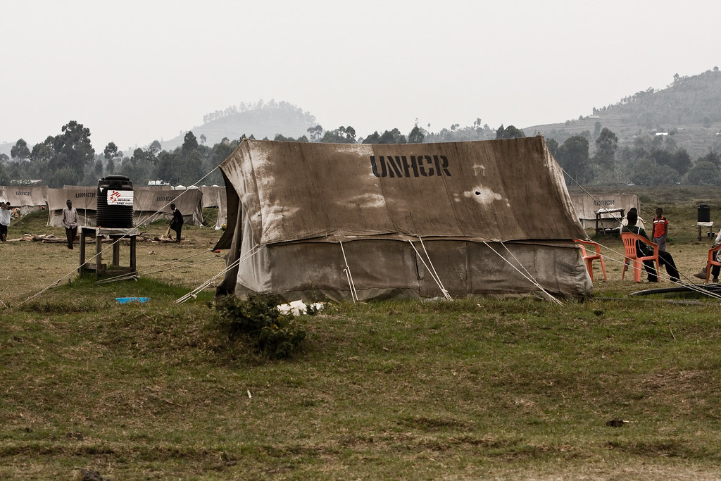 """""""Nyakabande Refugee Camp"""" by gsz is licensed under CC BY-NC-ND 2.0"""