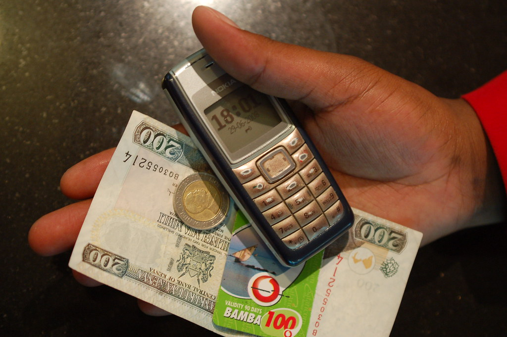 Mobile usage in Kenya has seen tremendous growth due to mobile money services image by by whiteafrican is licensed under CC BY 2.0