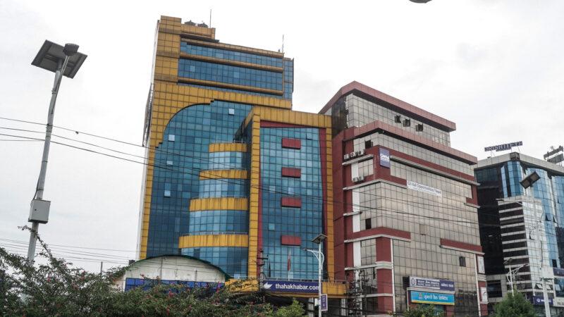 The Ajeya Raj Sumargi owns Muktishree group of companies. (Photo: Bijay Gajmer / CIJ via Record Nepal)