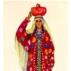 A small portrait of Ozoda Nurmakhmadova